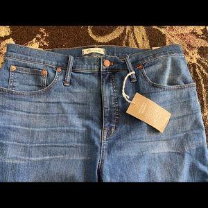 NWT Madewell Cali Demi Bootcut Jeans